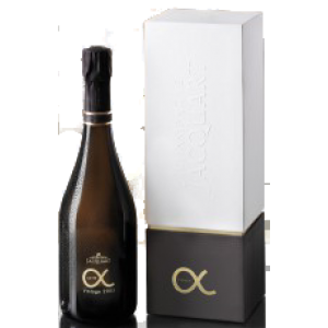 Cuvée Alpha 2010 in Geschenkpackung, Champagne Jacquart